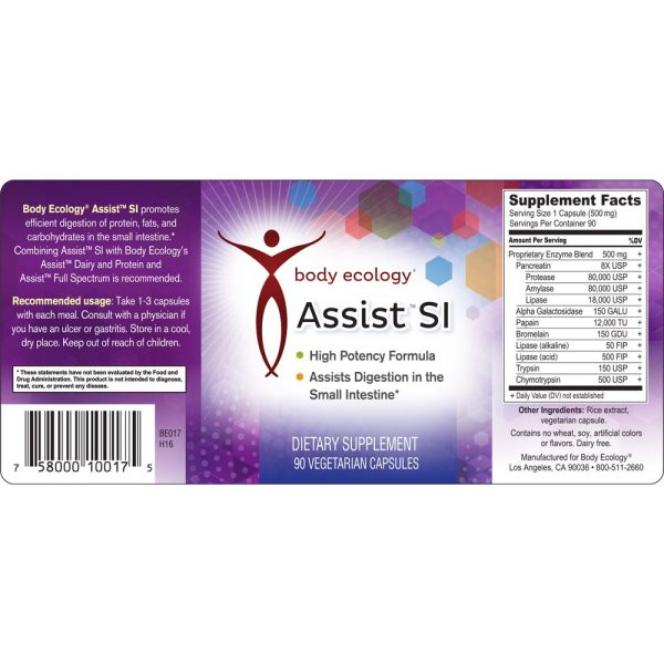 body ecology canada assist si label