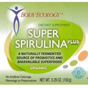 body ecology canada super spirulina plus label