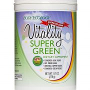 body ecology canada vitality supergreen powder - front