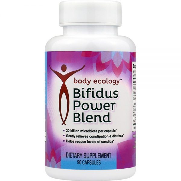 Body Ecology Canada Bifidus Power Blend Probiotic – Front