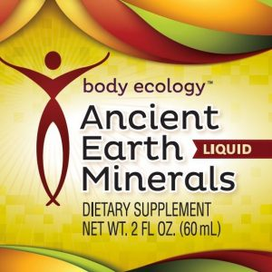 Body Ecology Canada Ancient Earth Minerals - Liquid - Label