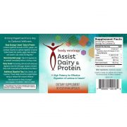 Body Ecology Canada Assist Dairy & Protein Label